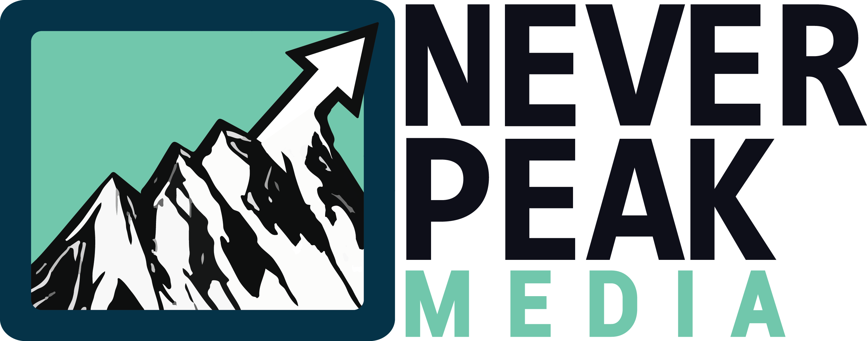 FIXED Never Peak Media FINAL LOGO
